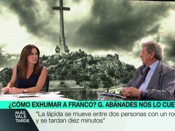 Gabino Abánades, la persona que lideró el equipo de entierro de Franco.