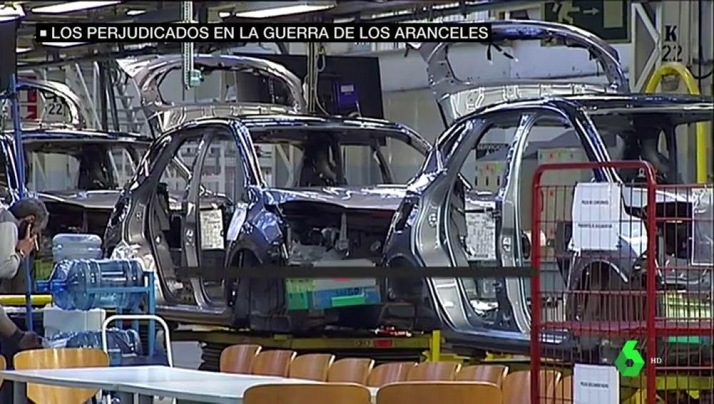Cadena de montaje de automóviles