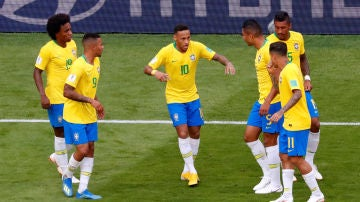 Neymar, tras su gol a México