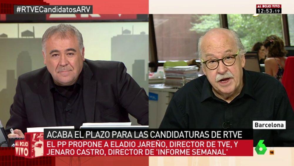 El periodista Ferrán Monegal
