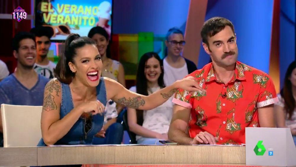 Lorena Castell y Jon Plazaola