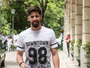 Jesús Escudero, el peluquero de 'La Manada', acude a firmar al juzgado