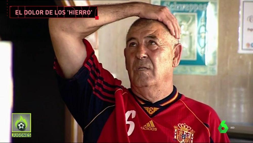 El calvario de la familia de Hierro con la eliminación de España