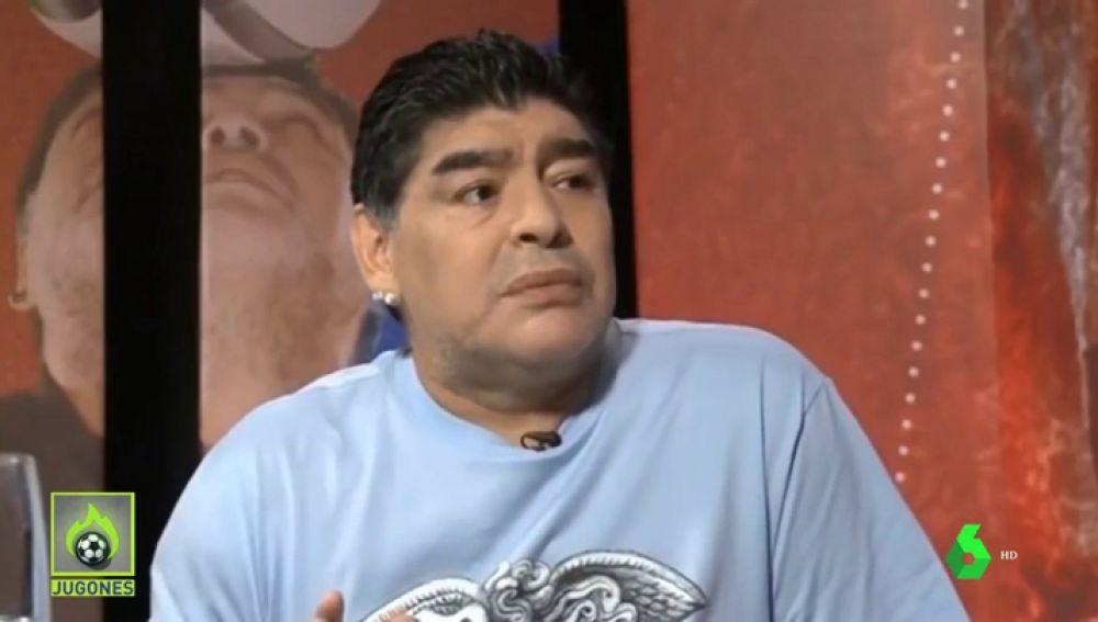 """El 'palo' de Maradona a Isco: """"Traslada mucho... y define poco"""""""