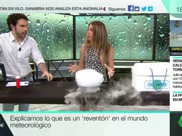 """El experimento que explica el """"reventón"""" meteorológico del pleno verano."""