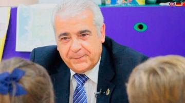 El alcalde de Arroyomolinos, Carlos Ruipérez