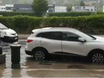 Inundación en Oviedo