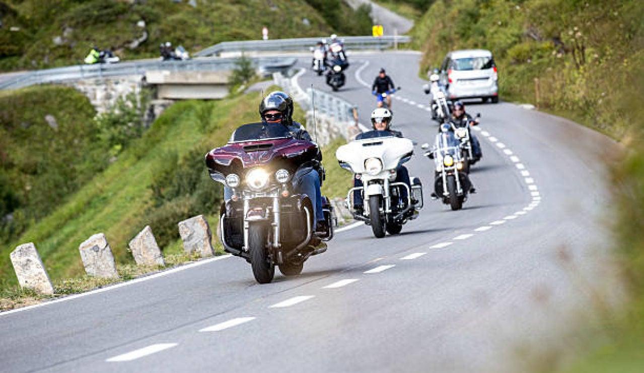 Motos en carretera