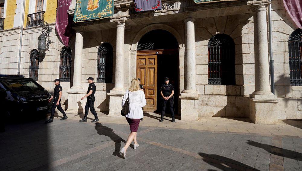 Registros en el Ayuntamiento de Teruel