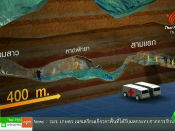 Así será el peligroso rescate de los 12 niños atrapados en una cueva en Tailandia