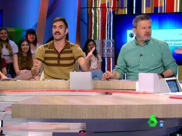 Lorena Castell, Jon Plazaola y Miki Nadal