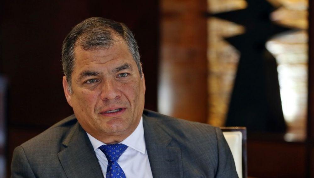 Imagen de archivo de Rafael Correa