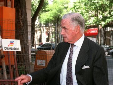 Imagen de archivo del exgobernador del Banco de España, José María López de Letona