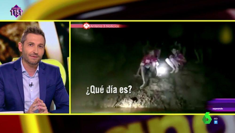 El original mensaje de Frank Blanco al grupo de niños atrapados en una cueva de Tailandia