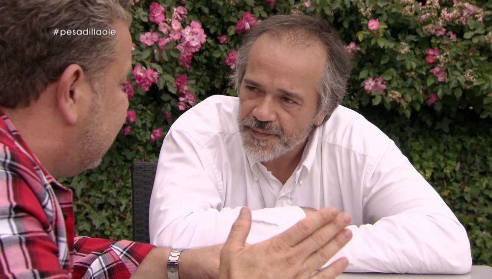 Alberto Chicote en Pesadilla en la cocina: Olé