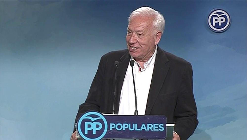 """García-Margallo: """"Agradezco a los militantes que me han votado, han sido tan pocos que lo haré uno a uno, personalmente"""""""