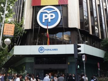 Génova 13, sede del Partido Popular