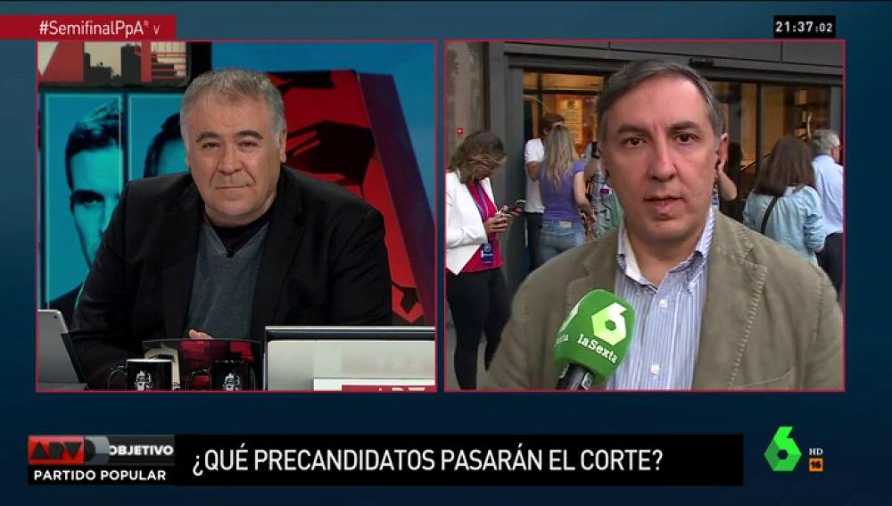"""Joserra García-Hernández: """"Yo he ganado porque he liderado el debate y los demás han hablado de mis ideas"""""""