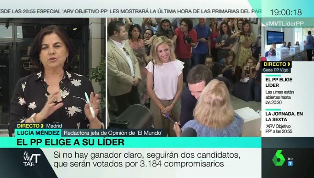 Lucía Méndez en Más Vale Tarde