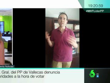 El secretario general del PP Vallecas.