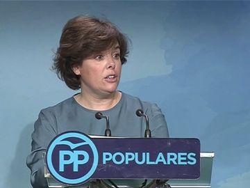 """Santamaría insiste a Casado en una candidatura única tras las ganar primarias del PP: """"Nuestros militantes merecen unidad"""""""