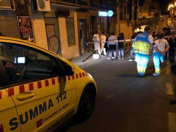 El lugar en el barrio de Tetuán en el que se ha encontrado a una mujer de 47 años ahorcada