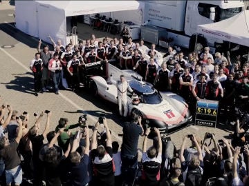 El 919 Hybrid EVO ha conseguido batir el record de Nürburgring