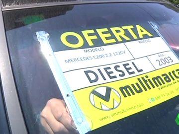 """Los concesionarios bajan los precios de los coches diésel ante la subida del precio del carburante: """"Hay mucho miedo"""""""