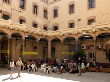 Vista del interior de la antigua cárcel Modelo de Barcelona