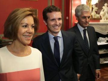 """laSexta Noticias 20:00 (16-07-18) María Dolores de Cospedal apoya a Pablo Casado como """"una magnífica opción"""" para liderar el PP"""