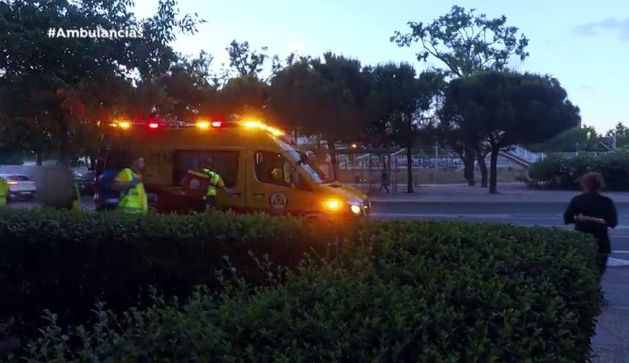Efectivos del equipo de 'Ambulancias'