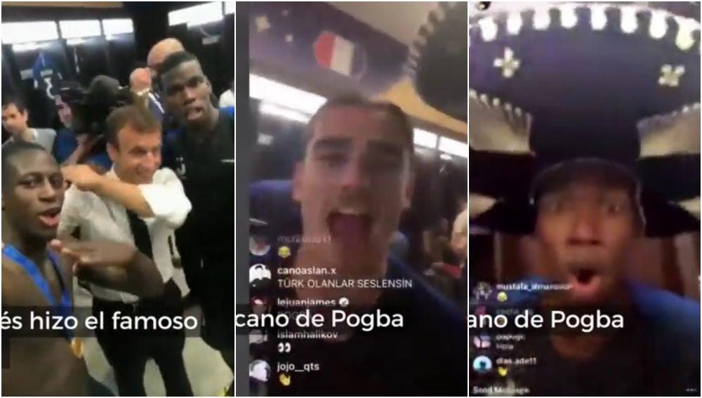 La loca celebración de Francia