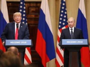 Donald Trump y Vladímir Putin