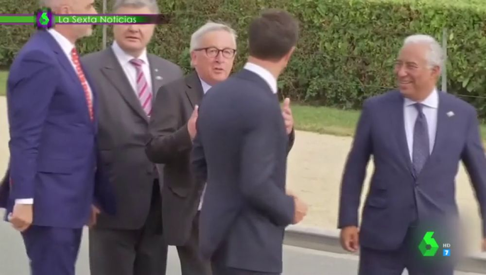 """¿Ciática o un """"problema con la bebida""""?: Jon Plazaola analiza pasito a pasito todas las fases del surrealista momento de Juncker"""
