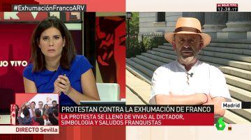 Bonifacio Sánchez, de la Asociación de Recuperación de la Memoria Histórica