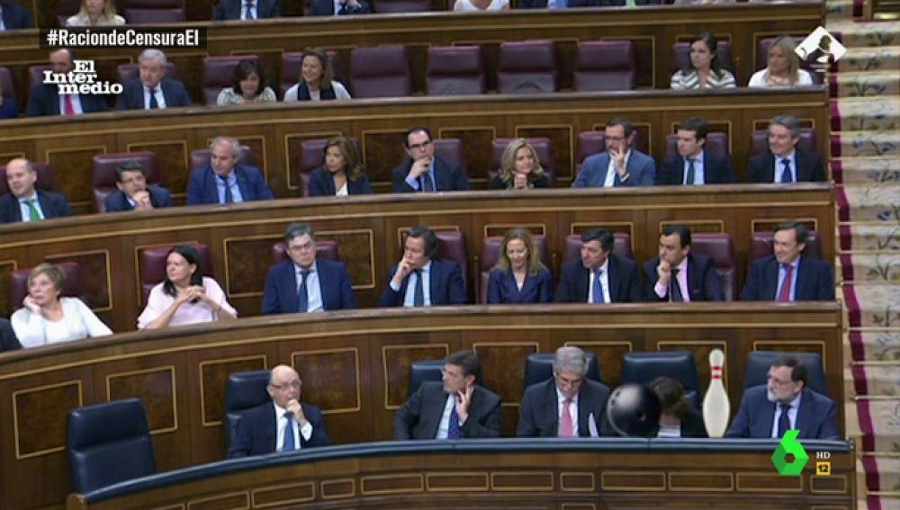 La bancada del Partido Popular en el Congreso