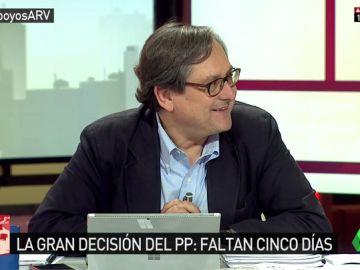 """Francisco Marhuenda: """"Cospedal detesta a Sáenz de Santamaría y votaría antes a Putin o Trump en las primarias del PP"""""""
