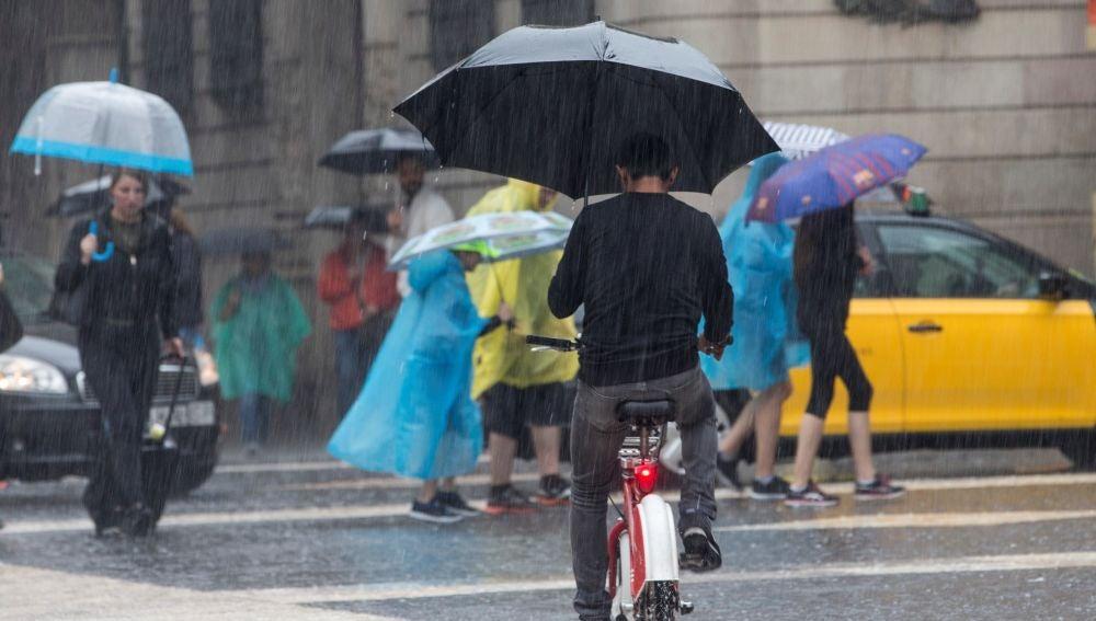Imagen de archivo de lluvias