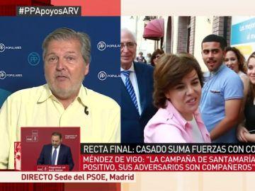 El exministro Íñigo Méndez de Vigo