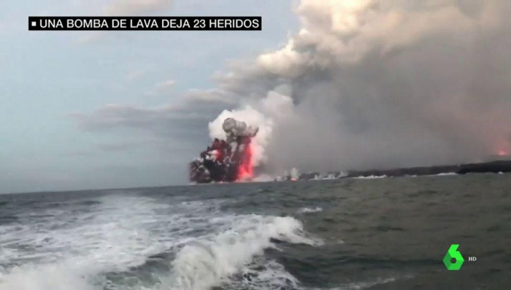 La peligrosa atracción del volcán Kilauea