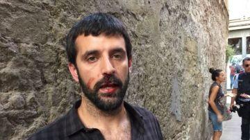 El fotoperiodista Jordi Borràs denuncia que un policía le agredió