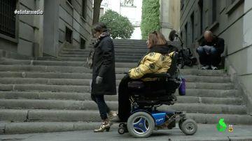 """Cuando Rosana Torres mostró las dificultades de las personas de movilidad reducida en Madrid: """"Necesitamos que nos traten como gente normal"""""""