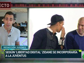 Zidane se incorporaría a la Juventus como asesor de la dirección deportiva