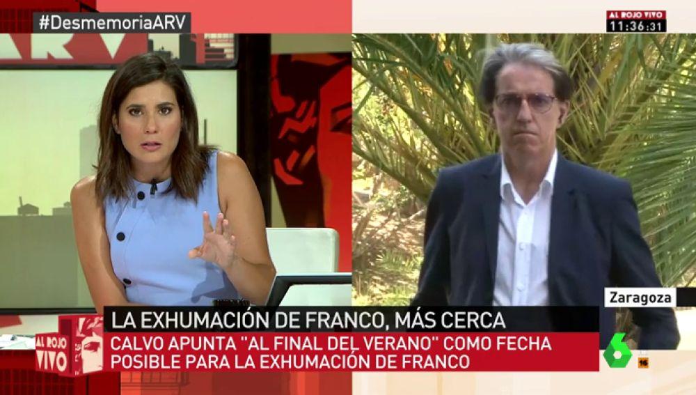 Julián Casanova, catedrático de Historia en la Universidad de Zaragoza