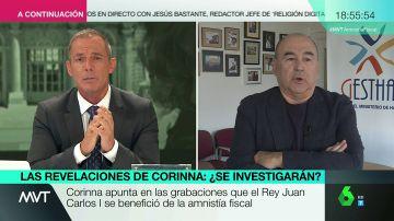El portavoz del Sindicato de Técnicos de Hacienda, Manuel Redal