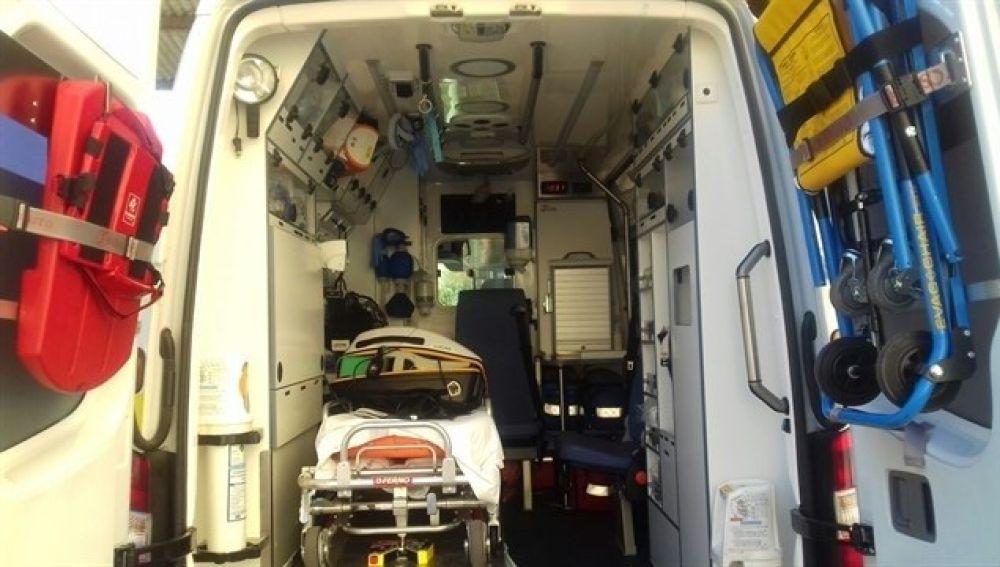 Ambulancia del Servicio de Emergencias