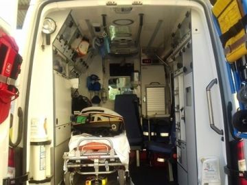 Ambulancia del Servicio de Emergencias