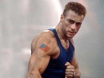 El actor Jean-Claude Van Damme en una escena de la película
