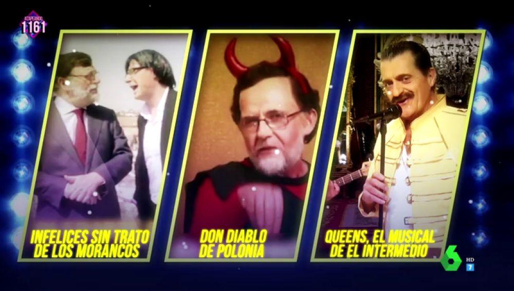 Candidatos a Premios Zapeando a la Mejor canción original
