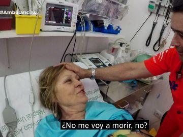 Ambulancias acude a la llamada de una taquicardia